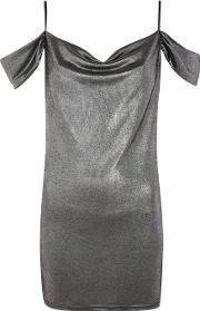 Womens Cowl Neck Mini Shift Dress By Oh My Love