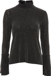 Womens Frill Neck Blouse By Oh My Love