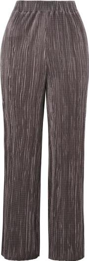 Womens Pleated Culottes By