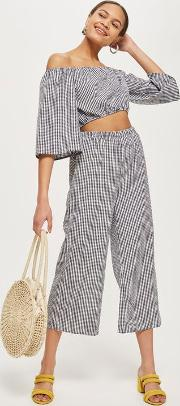 Womens Printed Culottes By