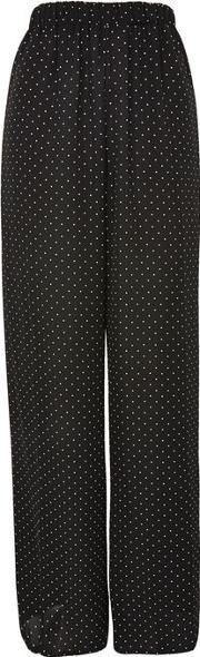 Womens Spot Print Trousers By