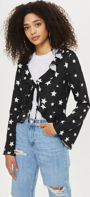Womens Star Print Blouse By
