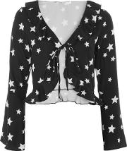 Womens Star Print Blouse By Oh My Love