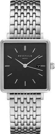 The Boxy Steel Watch