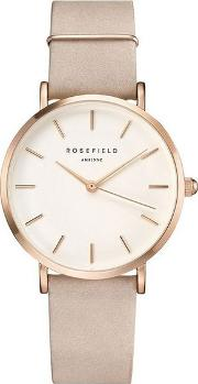 The West Village Soft Pink Rose Gold Watch