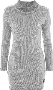 Womens Roll Neck Dress By Sixth June