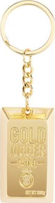 Womens Gold Digger Key Charm By Skinnydip