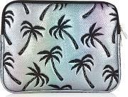 Womens Palm Shimmer 12 Laptop Case By Skinnydip