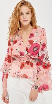Anora Floral Top