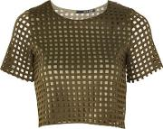 Womens Sian Crop Top By