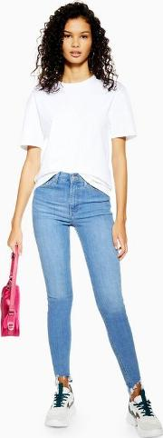 Bleach Jagged Hem Jamie Jeans