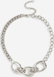 Chain Link Collar Necklace