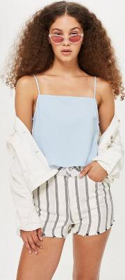 Cropped Square Neck Camisole Top