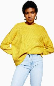 Directional Ribbed Jumper
