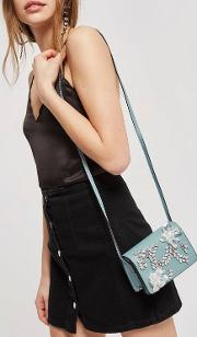 Frozen Embellished Cross Body Bag