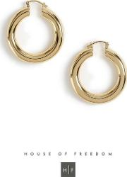 House Of Freedom Chunky Hoop Earrings
