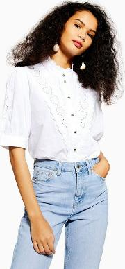Ivory Broderie Shirt