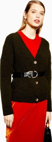 Knitted Super Soft Button Cardigan