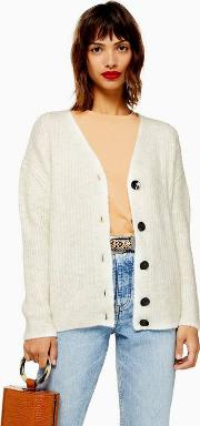 Knitted Super Soft Ribbed Cardigan