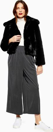 Maternity Cropped Wide Trousers