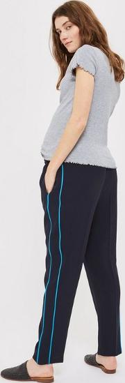 Maternity Side Pipe Trousers