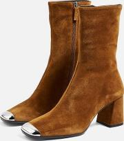 Maxwell Suede Ankle Boots
