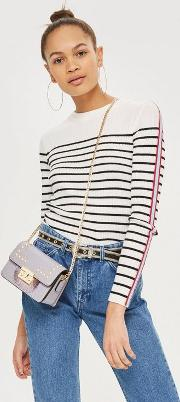 Rosie Pearl Fringe Cross Body Bag
