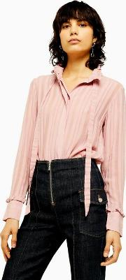 Stripe Pie Crust Blouse