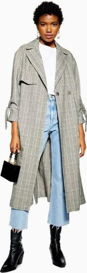 Textured Check Trench