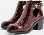 Wide Fit Berlin Ankle Boots