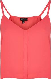 Womens Cropped Camisole Top