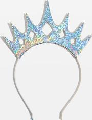 Womens Holographic Tiara Crown