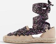 Womens King Lace Up Espadrilles