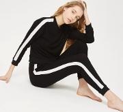 Womens Side Striped Joggers