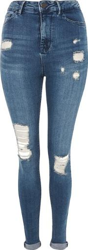 Womens High Rise Skinny Jeans By Waven