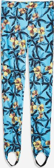 Summer Rain Yellow Floral Trousers