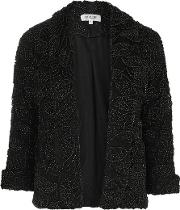 Womens 'let Me Go' Black And Gold Jacket By Wyldr
