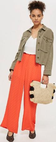 Orange Dotty Trousers