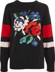 Womens Sally Knitted Jumper By Yas
