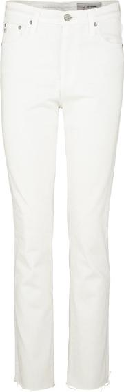 Isabelle Straight Jean In 01 Year White