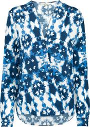 Wrap Blouse In Ink Blue