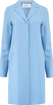 Boxy Coat In Baby Blue