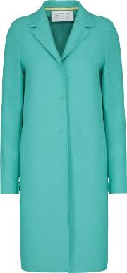 Boxy Coat In Mint
