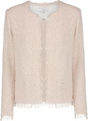 Shavani Jacket In Light Pink