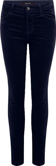 Maria Velvet Skinny Jean In Night Out