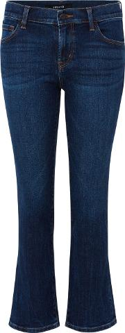 Selena Cropped Bootcut Jean In Mesmeric