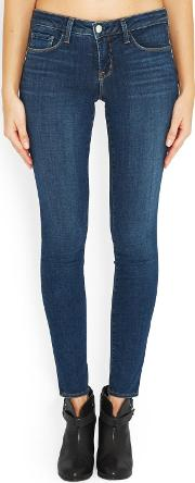 Chantal Skinny Jean In Dark Vintage