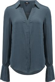 Abriana Blouse In Midnight Slate