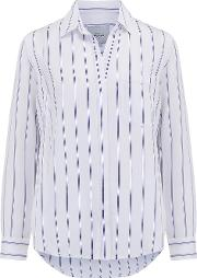 Hayden Shirt In Cannon Stripe