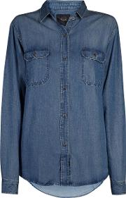 Kendall Shirt Dark Vintage Wash